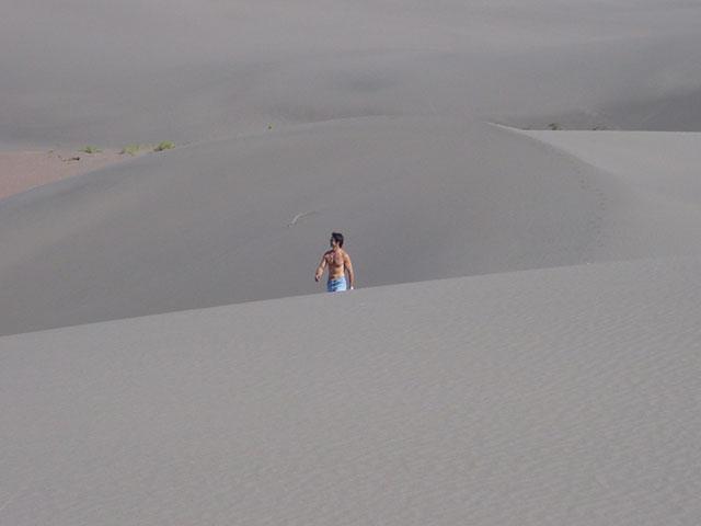 Le désert du Nihuil